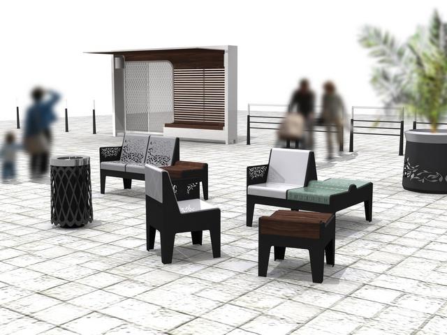 design urbain ran seri. Black Bedroom Furniture Sets. Home Design Ideas